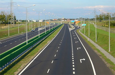 Дороги, скорость, штрафы в Польше. Платные дороги Польши.