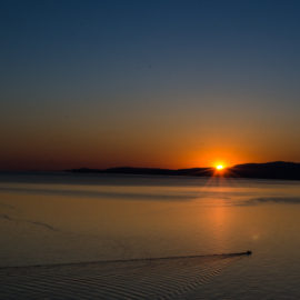 Кастельсардо, пляж La — Pelosa и мыс Теста